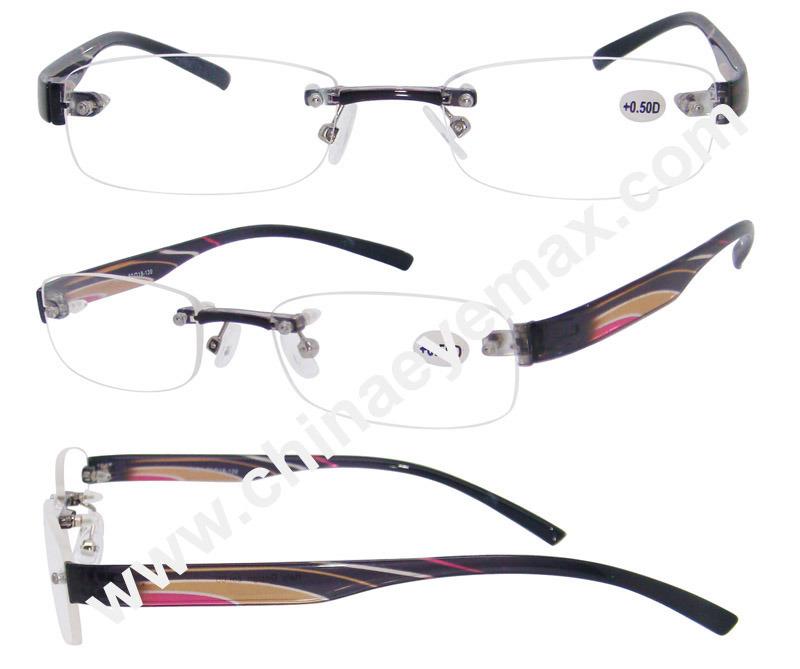 Rimless Tr90 Reading Glasses (RP2720) - China Rimless Tr90 ...