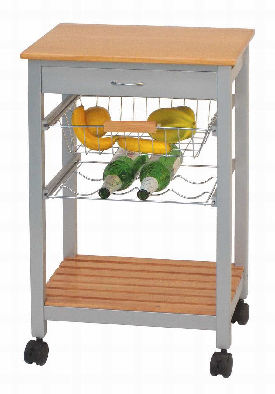 Impressive Wooden Kitchen Trolley W/ Metal Feet (HX1-3307) 905 x 1298 · 73 kB · jpeg