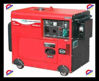 5kw Air Cooled Diesel Generator