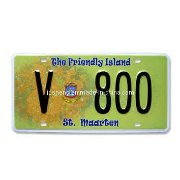 St. Maarten License Plate, License Plate, Car License Plate