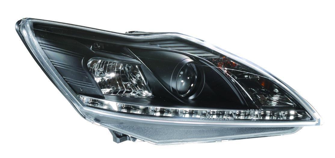 Replacing headlamp bulb ford focus