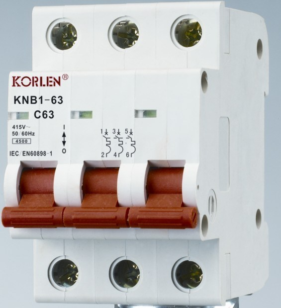 Supply High Quality Mini Circuit Breakers Knb1-63-2000