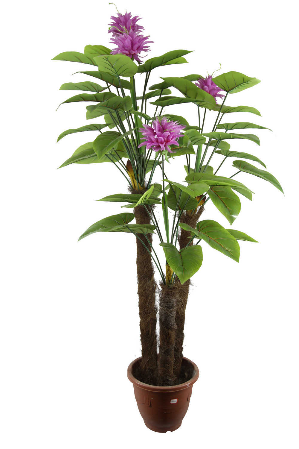 China art capucine plant imitated potted flower jtla 0011 for Plante verte decorative