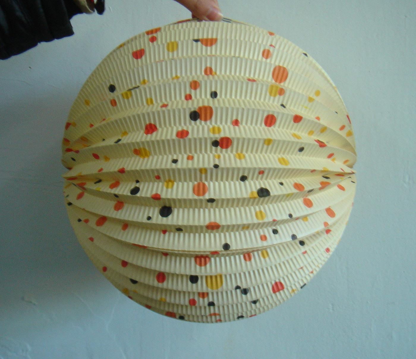 China handmade fold paper lantern china paper lantern for Homemade paper lanterns