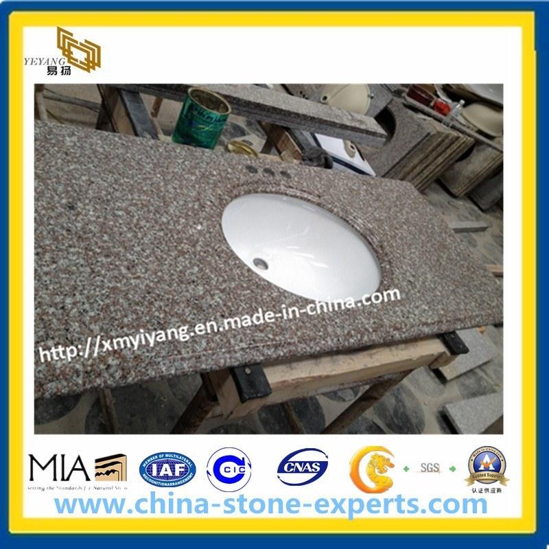 Bainbrook Brown G664 Granite Vanity Tops for Bathroom