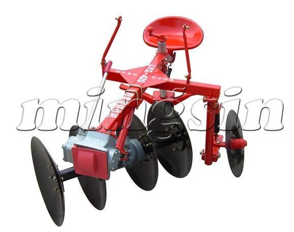 Power Driven Disc Plough Use for 15HP Dongfeng Walking Tractor (1LYQ-420)