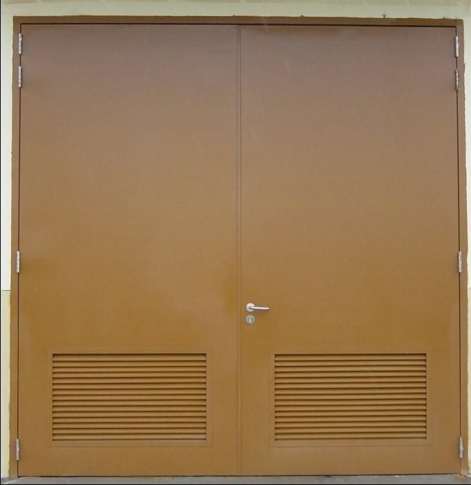 METAL LOUVERED DOORS DOORS