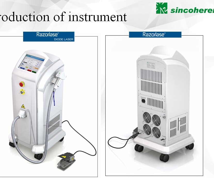 Medical Ce and FDA, Tga Approved 808nm Diode Laser Alexandrite Hair Removal Machine