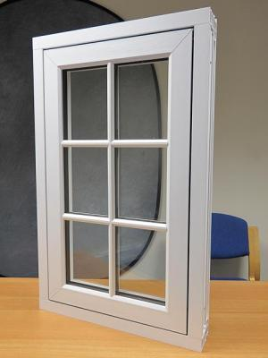 Factory Price Plastic Steel UPVC Casement Side-Hung Outswinging Window