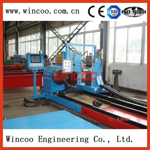 High Speed Pipe Spool Flame and Plasma Cutting & Profiling Machine