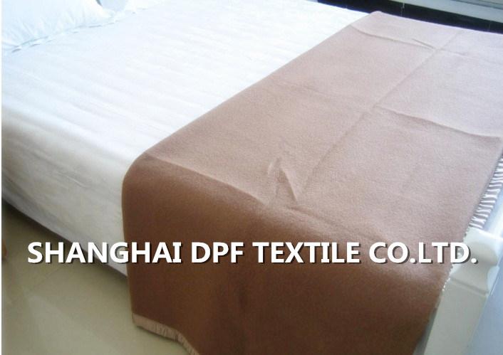 Shanghai DPF Textile Co. Ltd High Quality Wool Blanket