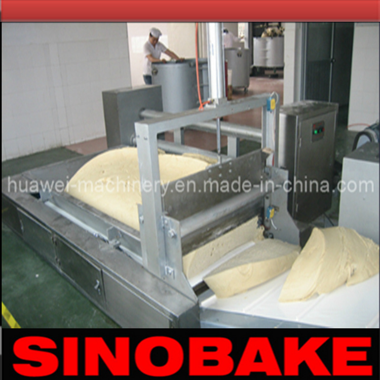 Automatic Dough Cutting and Feeding Machine
