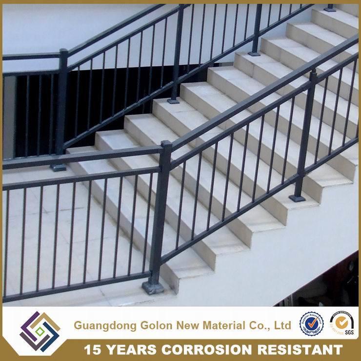 Wought Iron Metal Steel Aluminium Staircase Railing Handrail Balustrade