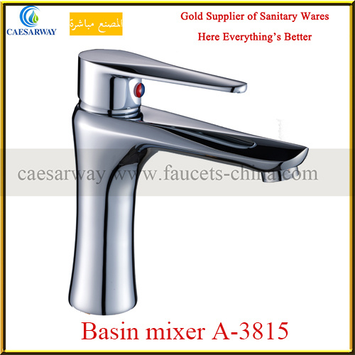 Brass Single Handle Basin&Kitchen Faucets Mixers