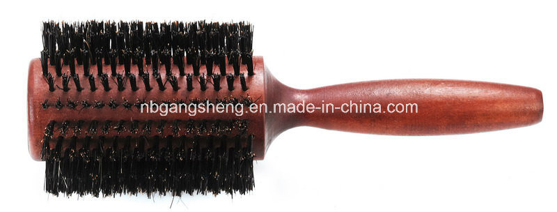 Thermal Round Wooden Brush OEM China Supplier