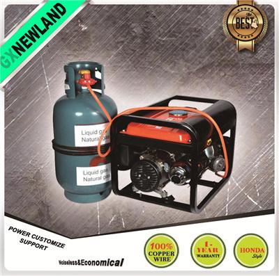 LPG Gasoline Generator Portable Natural Gas Generator