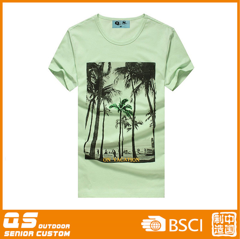 Men′s Summer Print Casual T-Shirt