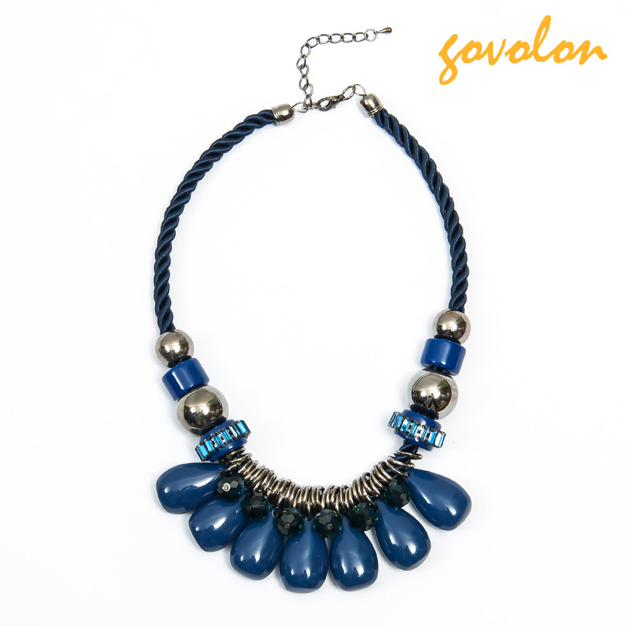 Gold Necklace/Costume Jewelry/Decorated Accessories
