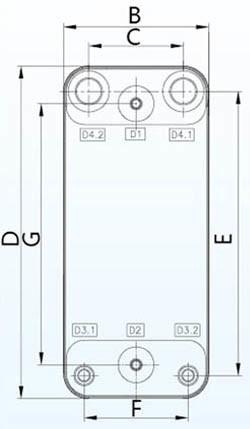 Zl250 Brazed Plate Heat Exchanger