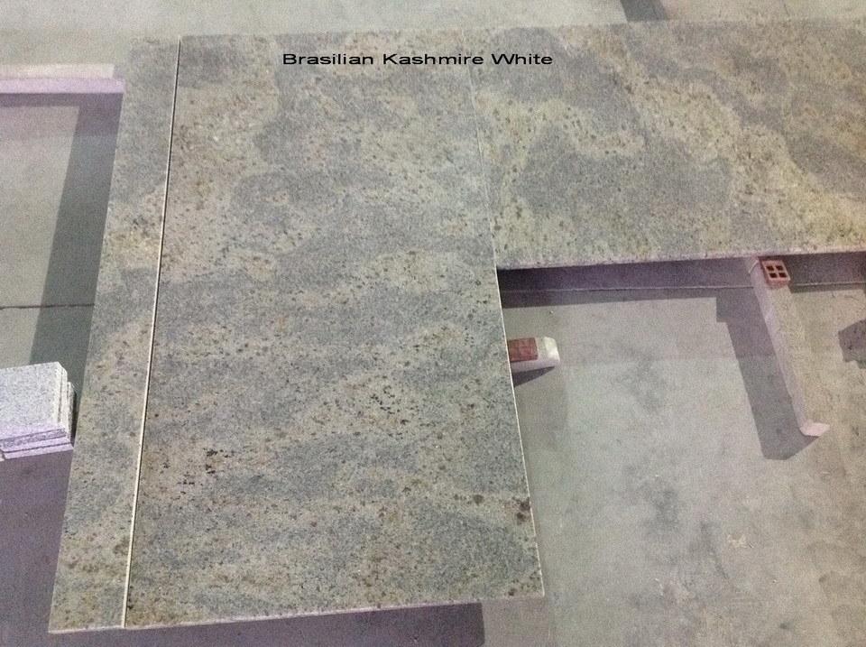 New Kashmir White Granite Countertops for Kitchen/Bathroom (YY- GC007)
