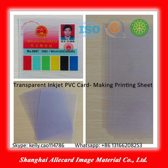Card Making PVC Transparent Sheet Material