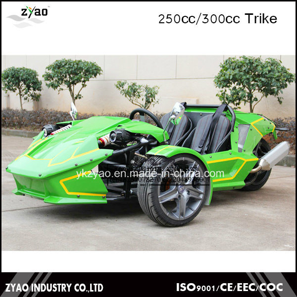 2016 Newest Design Ztr Trike Roadster 250cc EEC Approved