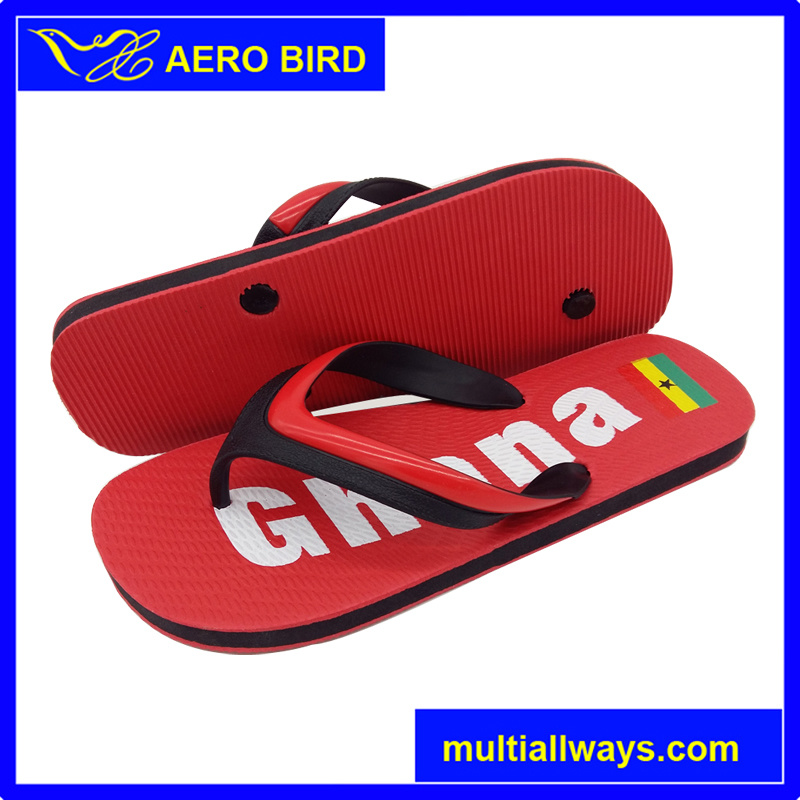 New Style PE Sole Ghana Slipper Shoe for Men