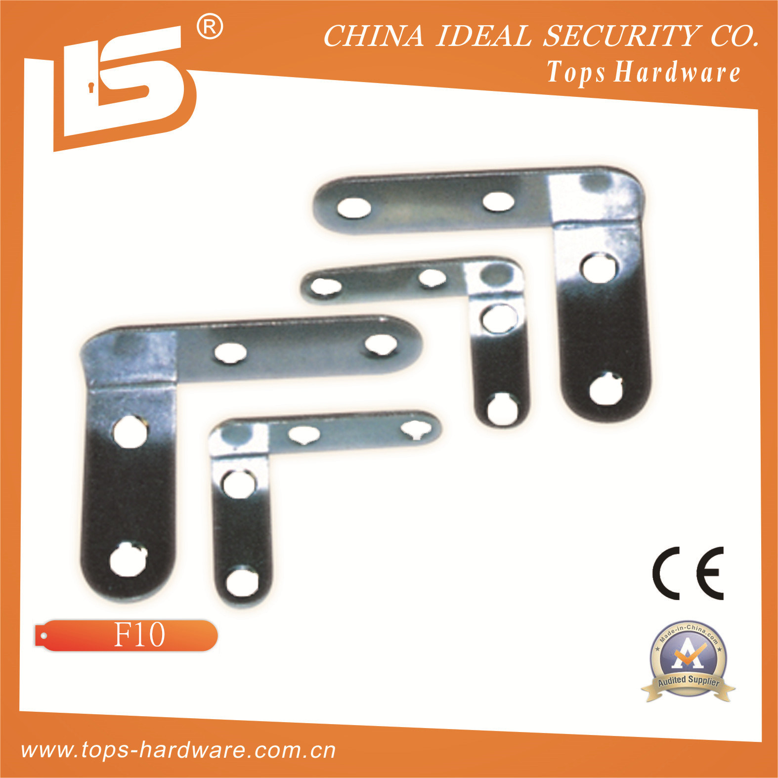 Iron Triangle Brace Shelf Bracket (F10)