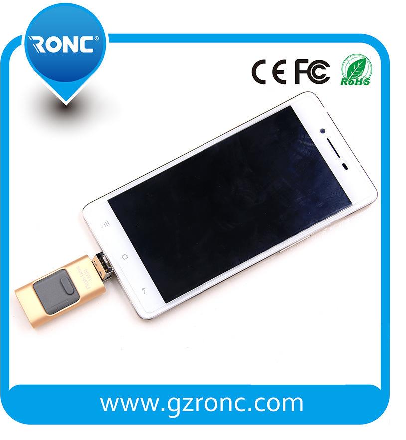 Wholesale Mini Size 64GB OTG USB Flash for Mobile Phone