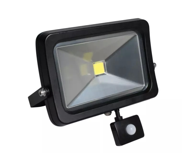 New Apple Ce SAA TUV IP65 10W 50W Outdoor COB SMD LED PIR Security Floodlight