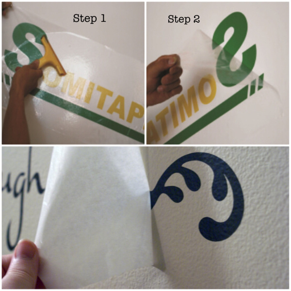 Sh363b Medium Adhesive Transfer Tape/Vinyl Film for Transfering Adverting Signs Somitape