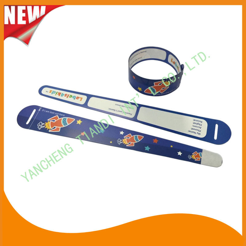 Entertainment Professional Manufacture Hot Selling Kids ID Child Wristbands (KID-1-6)