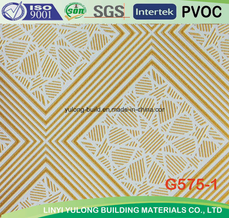 Colorful PVC Gypsum Board Ceiling Tile for Ceiling