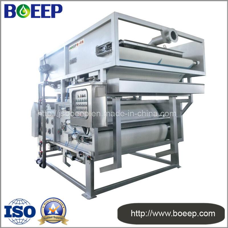 Wastewater Sludge Dewatering Machine Belt Type Filter Press