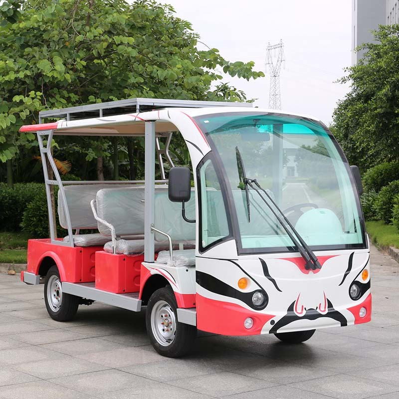 Ce Approved 8 Person Battery Sightseeing Bus (DN-8F)