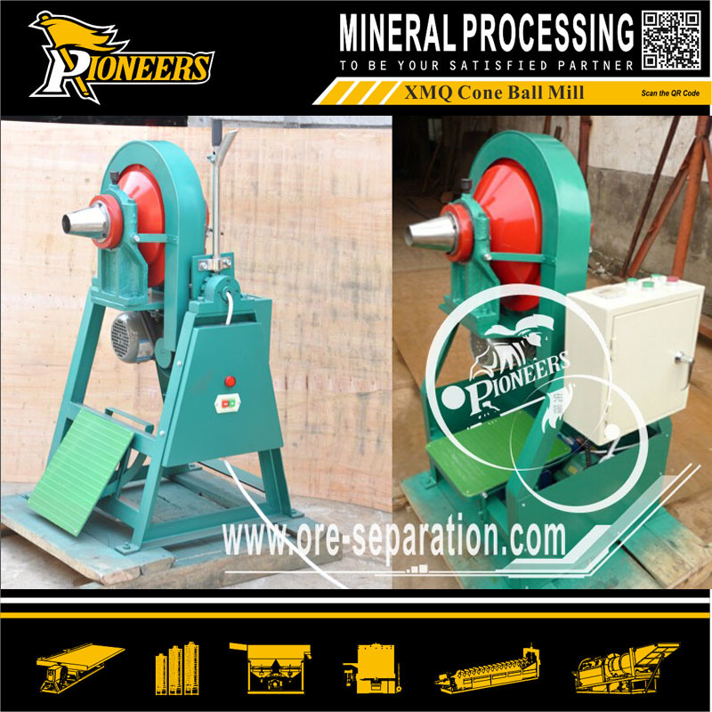Xmq Cone Ball Milling Machine Laboratory Small Ore Grinding Miller