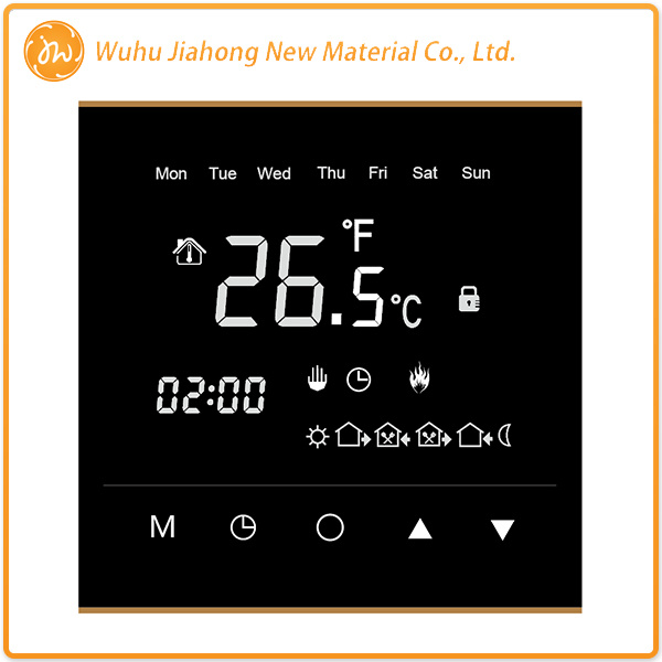 Digital Touch Screen Thermostat in 2016 Year with New Design