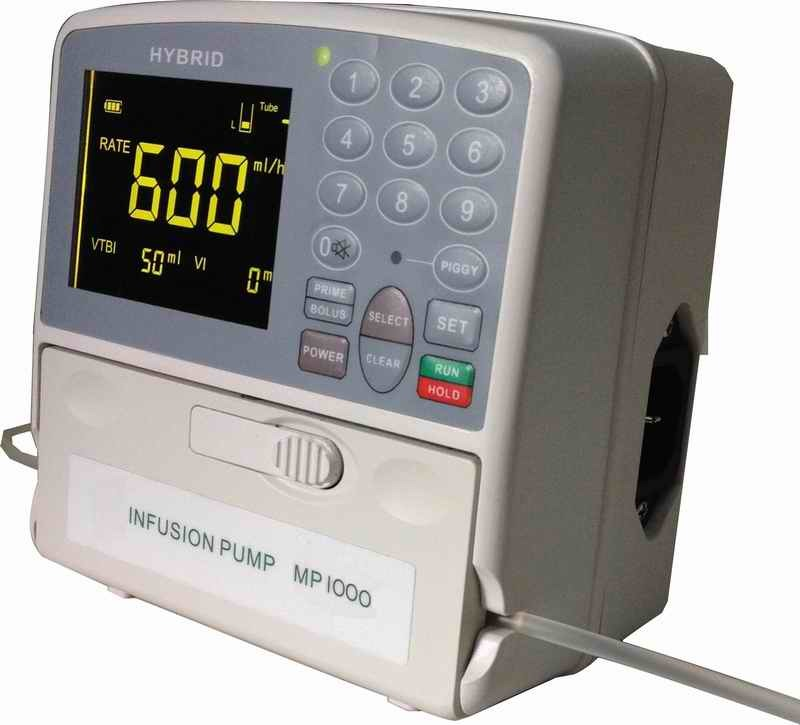 0.1-1200ml/Hr Ce Marked Vet/Human Infusion Pump