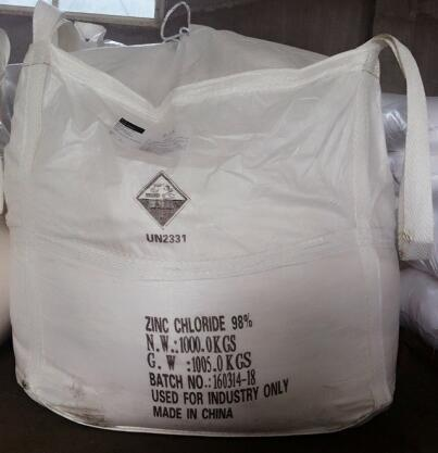 From China Supplier Industrial Grade Anhydrous Zinc Chloride