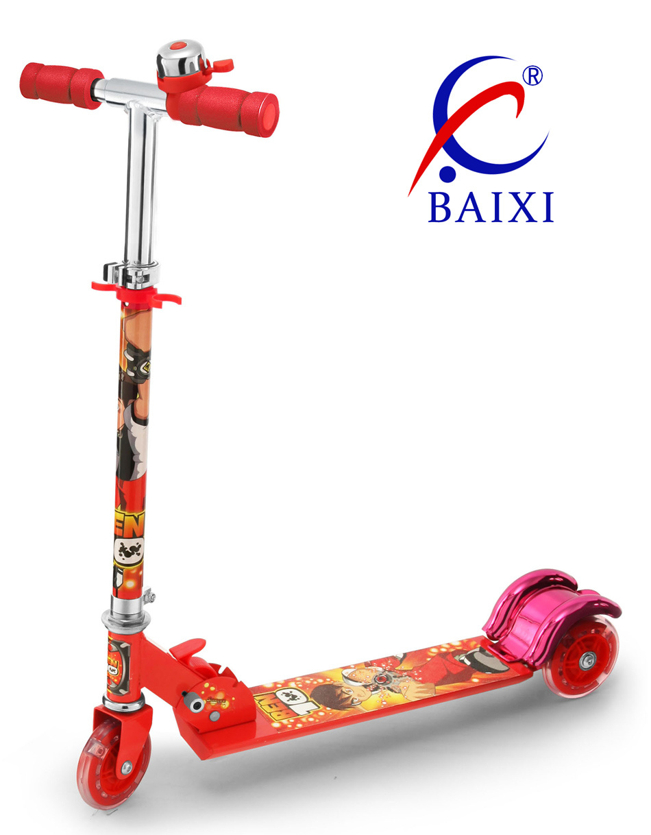 3 Wheel Folding Scooter for Kids (BX-3M005)