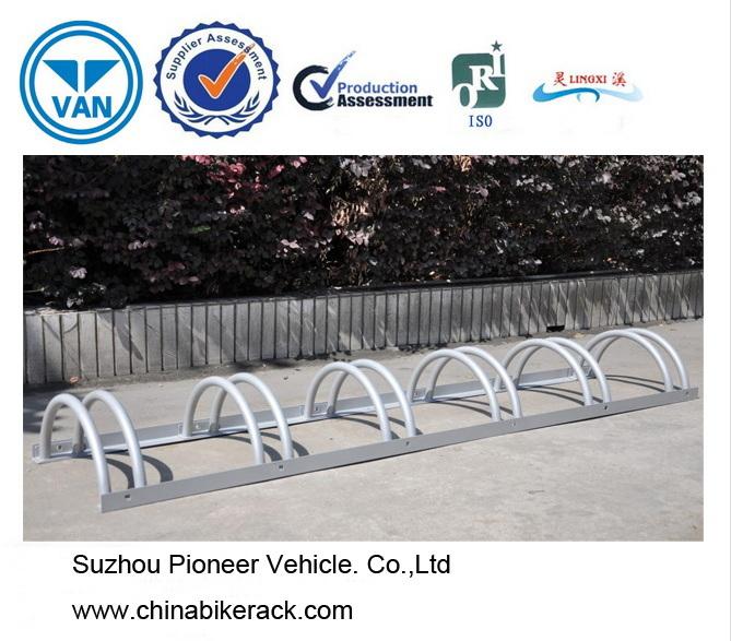 Adjustable Bike Stand/Mounted Garage Racks Park 6 Bikes