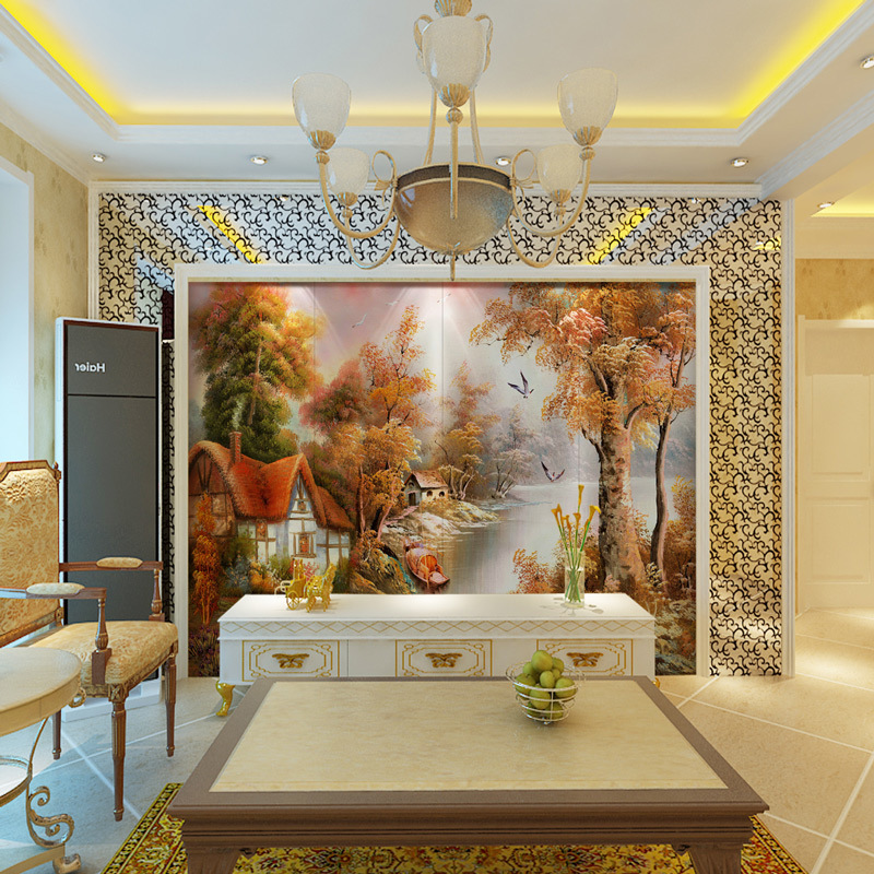 Art Wall Decoration of Nano Glass TV Interior Wall Tile