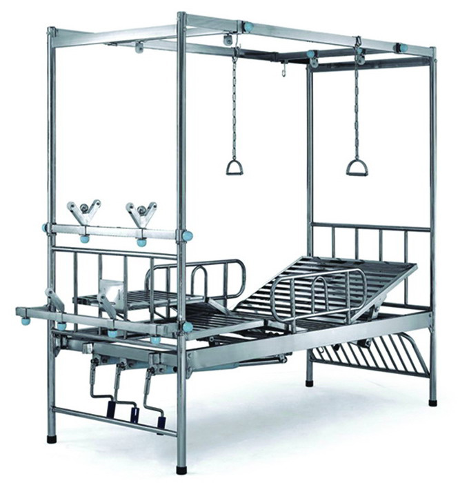 Hospital Bed -Orthopedic Manual Care Bed (Double Tratction)