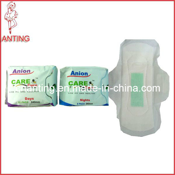 Anion Sanitayr Napkin, Health Lady Products, Breathable Cotton Sanitary Pads