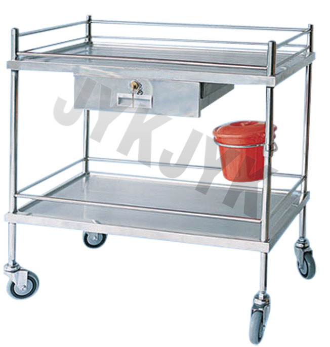 ABS Treatment Trolley with Three Shelves for Medical