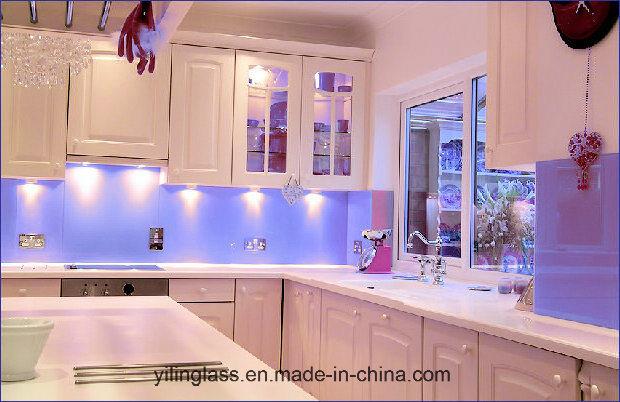 Tempered Color Fritted Glass Splashback