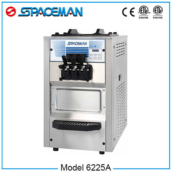 Buy Three Flavors Automatic Ice Cream Maker Machine From China