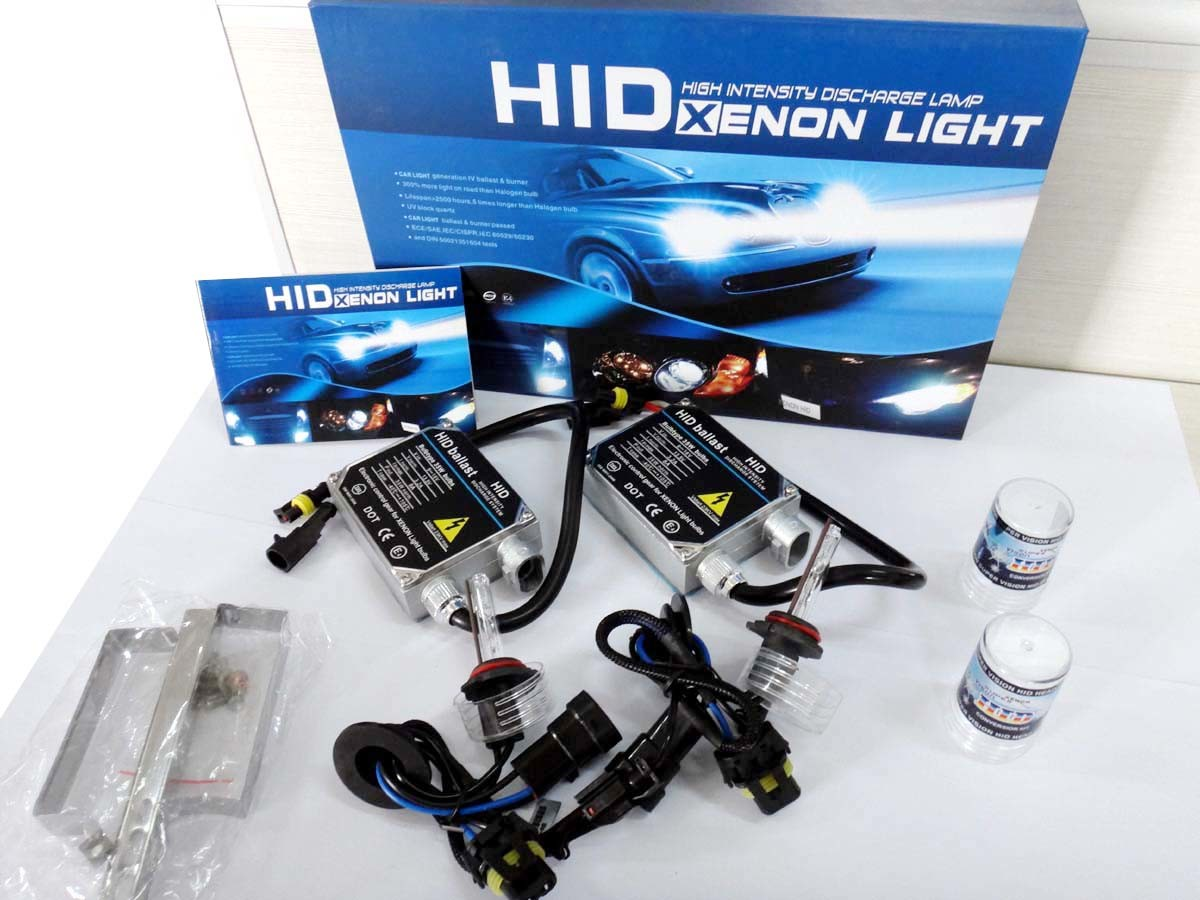 AC 55W 9005 HID Light Kits with 2 Rugular Ballast and 2 Xenon Lamp