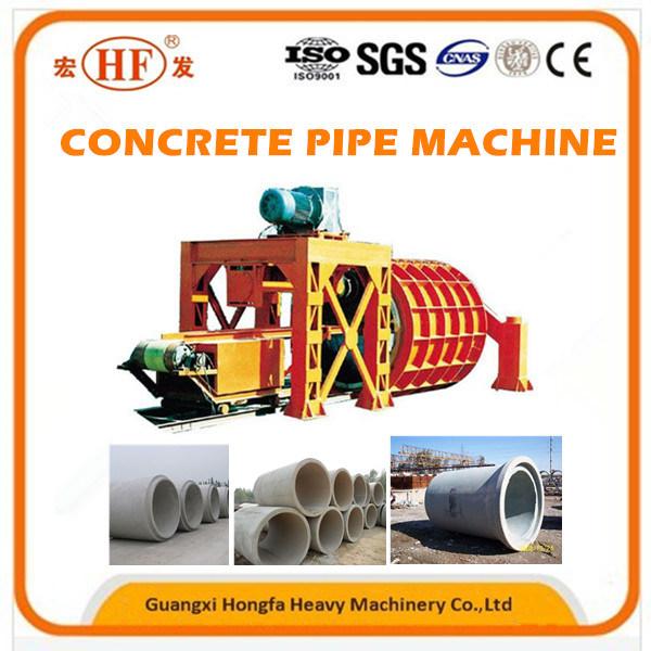 Concrete Drain Pipe Making Machine for Underground