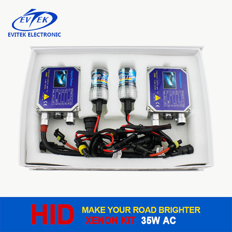 2016 Wholesale H7/H4 H/L 35W 12V Normal Ballast HID Kit with 18 Months Warranty Xenon H4 High Low 8000k